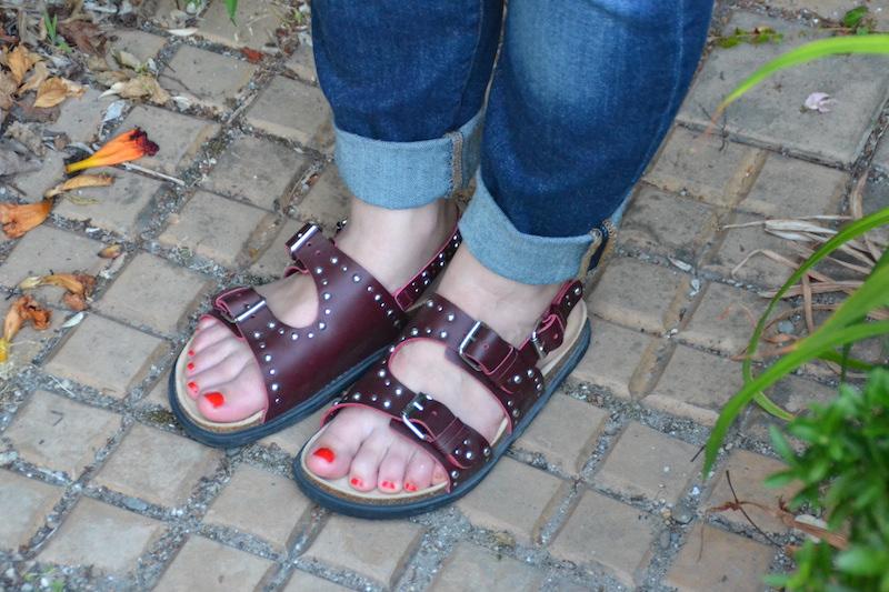 sandales a clous Zara Kids