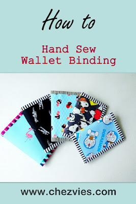 Hand sew binding tutorial