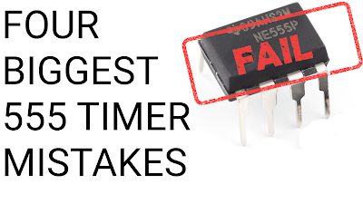 555 timer mistakes