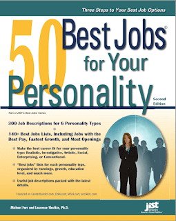 50 Best Jobs for Your Personality : Laurence Shatkin Download Free Career Book