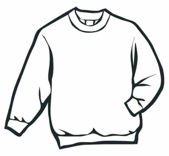 dibujos de ropa de hombre para colorear