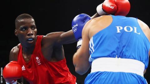 Lawrence Okolie, 20 secs KnockOut