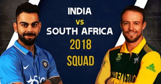Indian Team Announced For Limited Overs T20I Series Against South Africa: