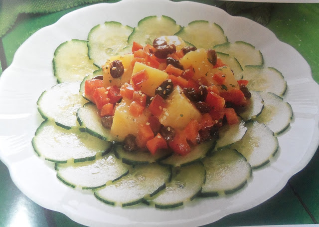 Cucumber and Pineapple Salad