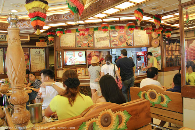 Interior of Buddy's in Lucena, Quezon