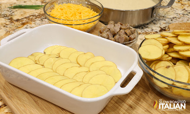 Best Potato for scalloped potatoes