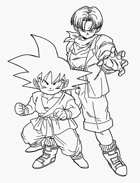 Dragon ball z coloring pages of vegeta for Dragon ball z vegeta coloring pages