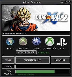 DRAGON BALL XENOVERSE 2 CD Key Generator (Free CD Key)