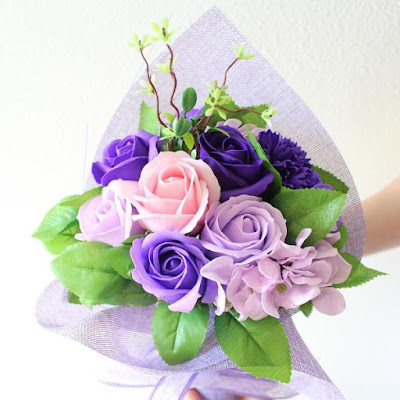 Give mom the Artificial Everlasting Scented Floral Bouquet from Nile Corp this Mother's Day