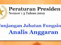 PP Nomor 3 Tahun 2019 Tentang Tunjangan Jabatan Fungsional Analis Anggaran