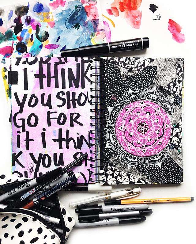 peek inside my art journal