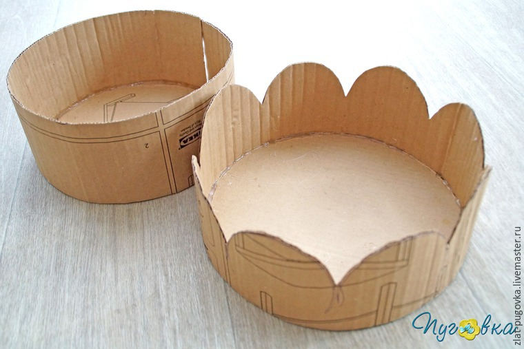 Cake-box for storage DIY Tutorial