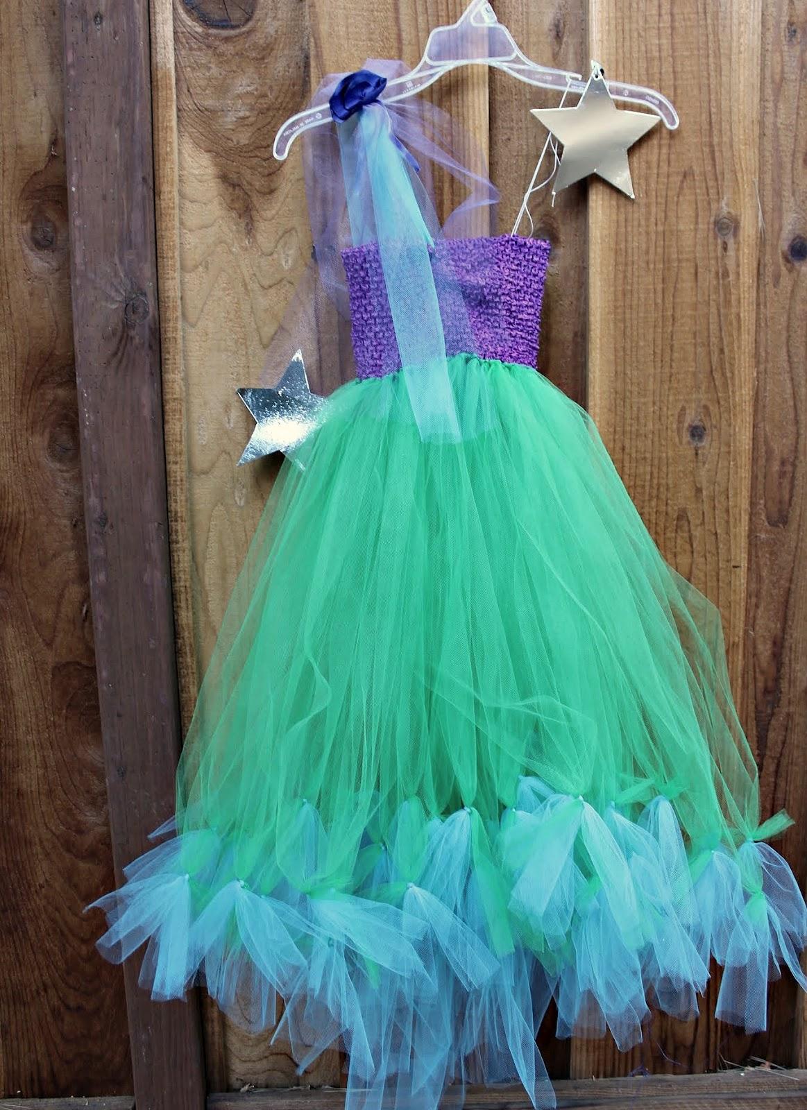 Make a No-Sew Halloween Costume for $20 (Mermaid, Princess or Fairy ...