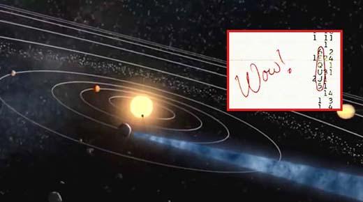 ¿Fue la Señal Wow! una transmisión de radio de origen extraterrestre?