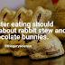 Alimentação na páscoa deveria ser voltada para coelho ensopado e não coelhos de chocolate