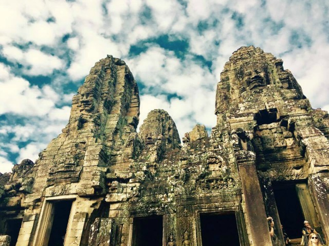 Bayon Temple in Siem Reap Cambodia