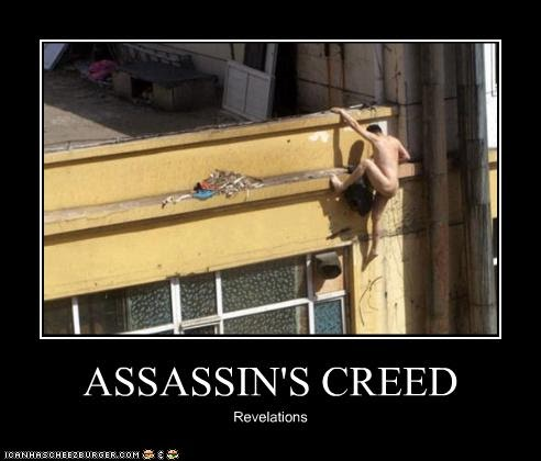Photo Trick Funny Assassin S Creed Poster Pics