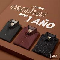 Promoción: M.bo Gana: CAMISAS POR 1 ÑOS
