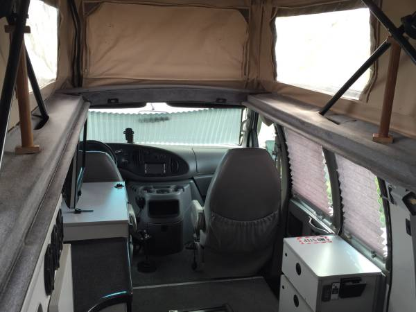 Used RVs 2002 Ford E350 Sportsmobile 4x4 Camper For Sale by