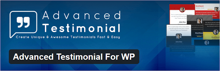Advanced testimonial for WP plugin