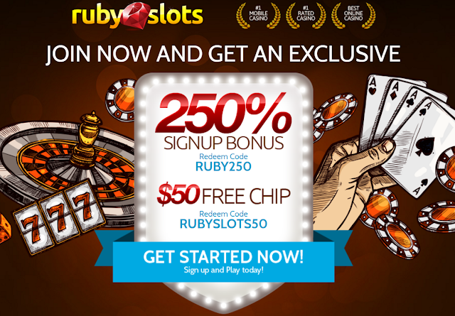 Join Ruby Slots casino now