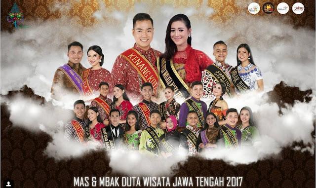 Pengumuman GIVEAWAY#3 Tentang Pemilihan Mas Mbak Duta Wisata Jawa Tengah 2017