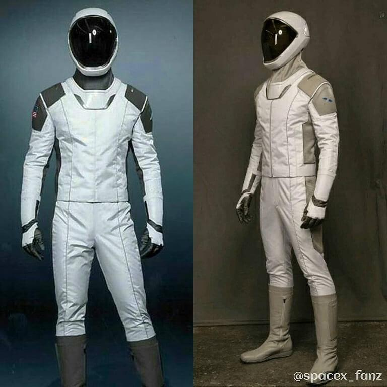 Spacex suit kremlinology for Space suit design