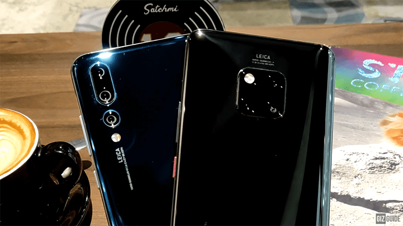 Watch: Huawei P20 Pro vs Huawei Mate 20 Pro camera comparison