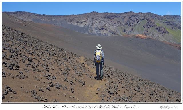 Haleakala: More Rocks and Sand. And the Path to Somewhere.