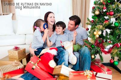 cómo afectan los cambios de rutina con los bebés en las Navidades, navidad, rutinas, bebé, blog mimuselina