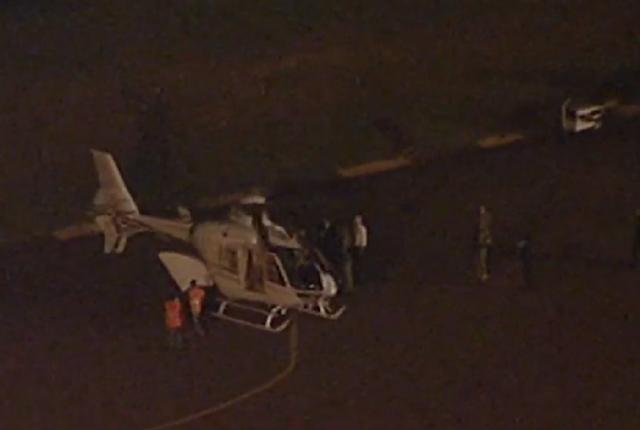 Resultado de imagem para lula chega de helicóptero a sede da pf