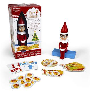Elf on the Shelf Hide & Seek Game