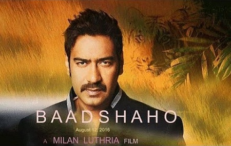 Shruti Haasan, Ajay Devgn New Upcoming movie Baadshaho release 2016 Poster