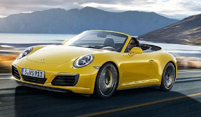 Mobil sports dengan konsumsi bahan bakar paling irit Porsche 911 Carrera