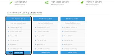 Memilih SSH Premium USA 1
