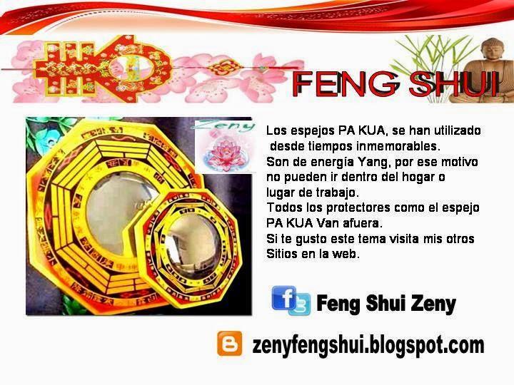 Zen y feng shui tao donde ubico los pakua perros fu - Espejo feng shui ...