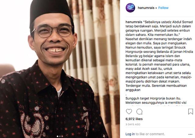 Hanum Rais Serukan #SomadEffect Everywhere