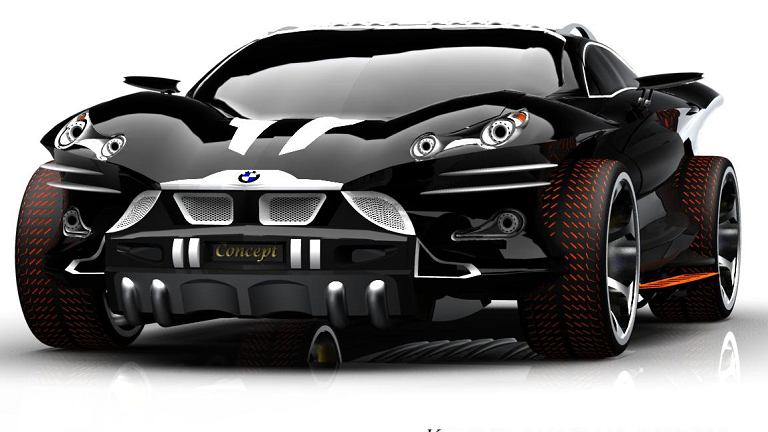BMW X9 czy Batmobile (concept)