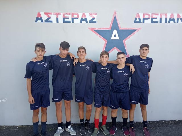 6 ταλέντα από την ακαδημία στην ομάδα του Αστέρα Δρεπάνου