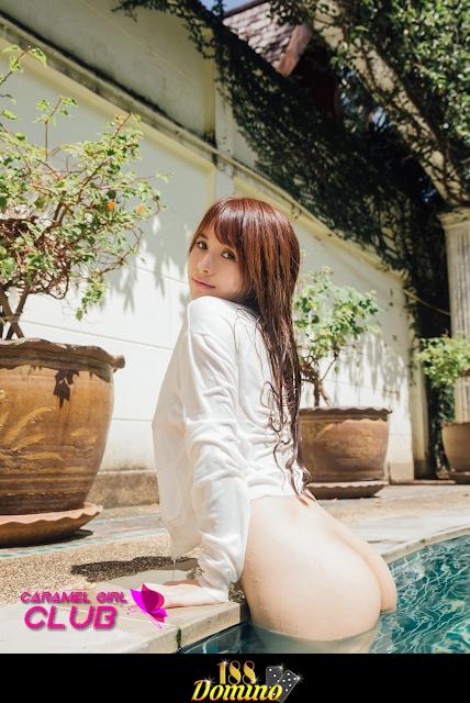 Galeri Foto Model Seksi Chinese - Xia Mei Jiang 2 (夏美酱)