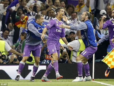 Do you know that Cristiano Ronaldo scored his 600th career goal with the UEFA Champions League win?