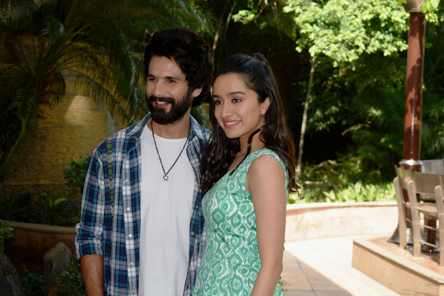 Shahid and Shraddha promote 'Batti Gul Meter Chalu' in Delhi