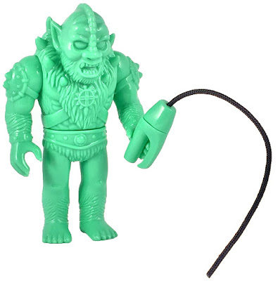 "Power-Con 2016 Exclusive Masters of the Universe ""Prototype Green"" Beastman Soft Vinyl Figure by Super7 x Gargamel x Mattel"