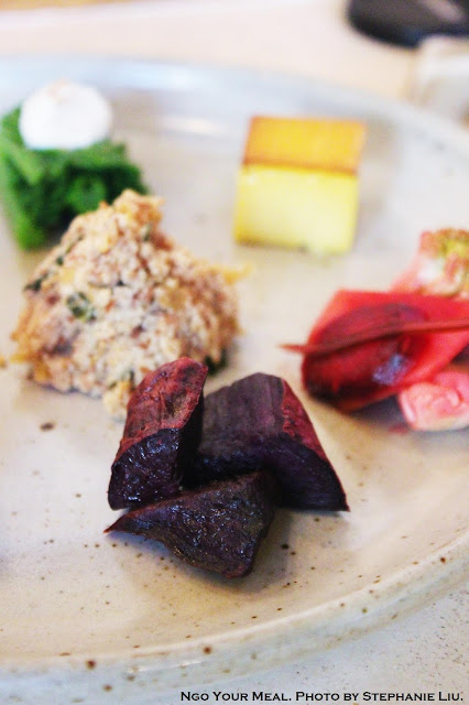 Roasted Purple Sweet Potato at Okonomi