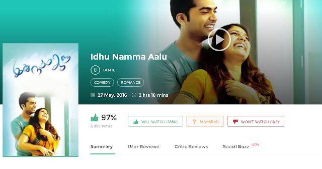 Idhu Namma Aalu (2016) Tamil Full DvDRip Movie Free 300MB