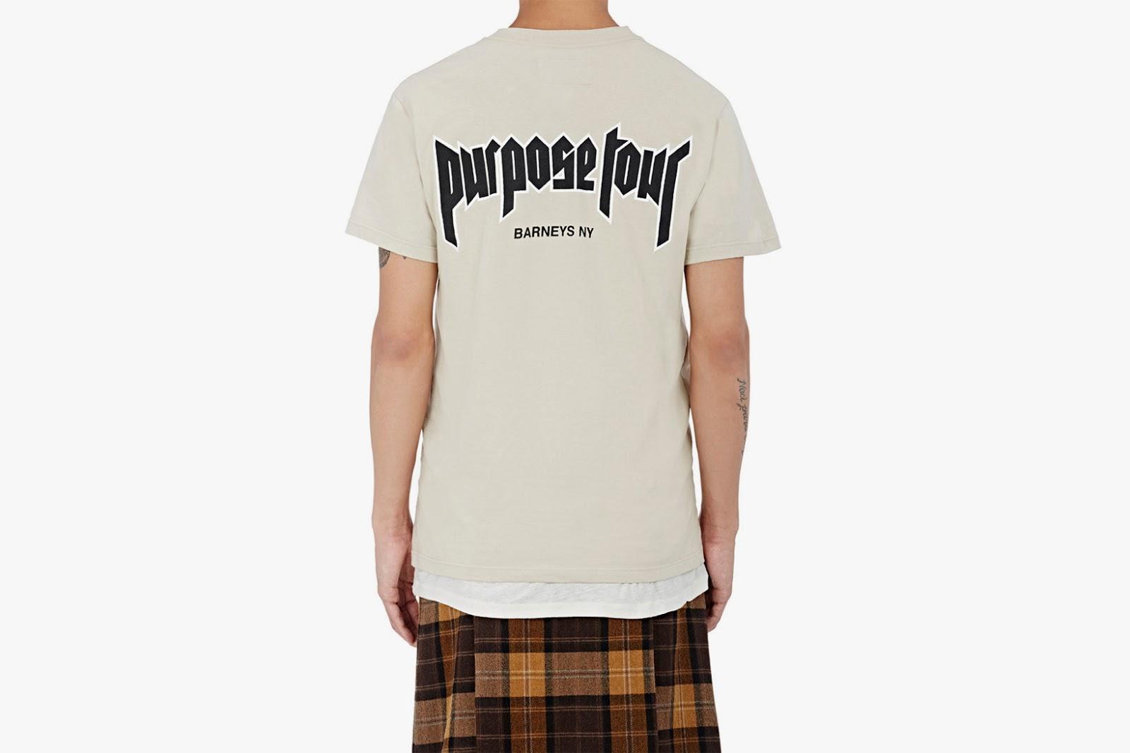 Barneys Purpose Tour Merch