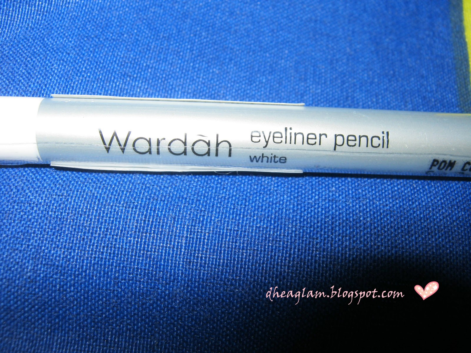 DeeGlam: Wardah eyeliner white pencil