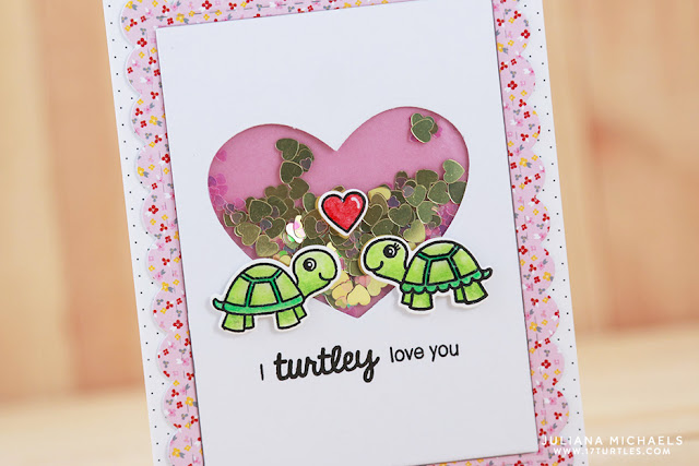 Sunny Studio Stamps: Turtley Awesome and Daffodil Dreams Cards by Juliana Michaels