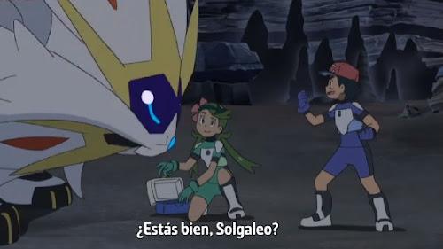 Pokemon Sol y Luna Capitulo 90 Temporada 20 Conéctate al futuro, la leyenda del resplandeciente