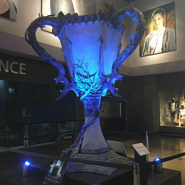 Triwizard tournament cup Harry Potter